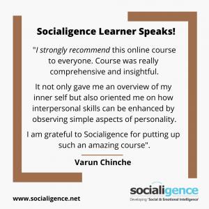 Varun Chinche Testimonial